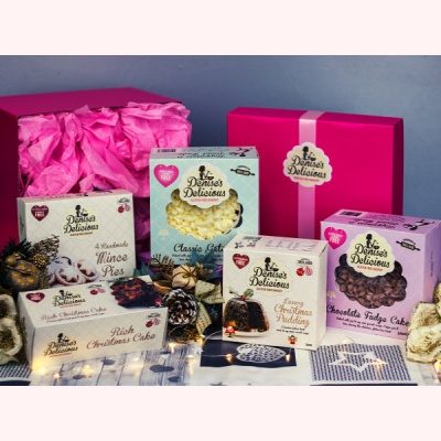 Denise's Delicious Gluten Free Christmas Goodies Hamper