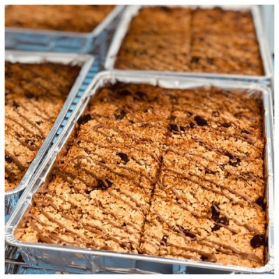 Denise's Delicious Gluten Free Flapjack Tray Bake
