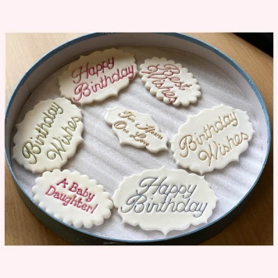Personalised Birthday Cake Plaque