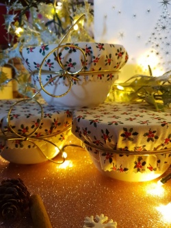 Gluten Free Christmas Ceramic pudding