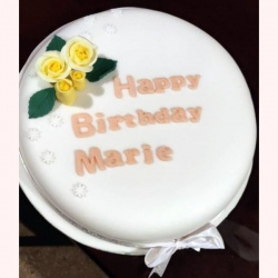 Personalised Gluten Free 10 Inch Celebration Cake